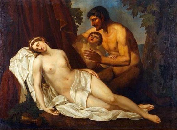 Annibale Carracci - Venus Inebriated by a Satyr