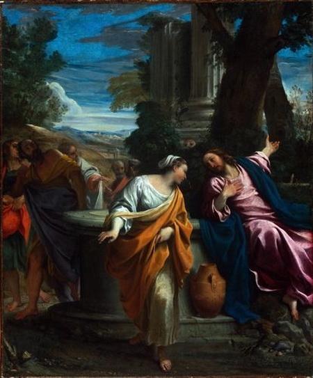 Annibale Carracci - Christ and the Samaritan Woman