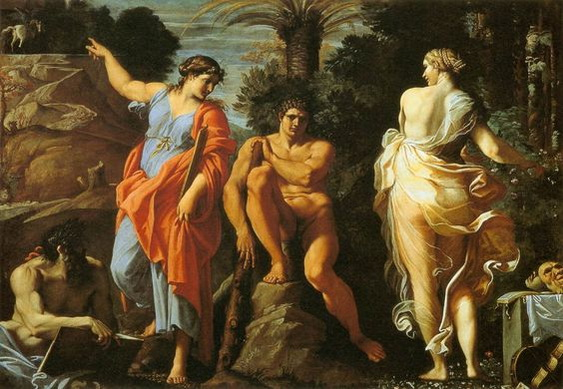 Annibale Carracci - The Choice of Hercules