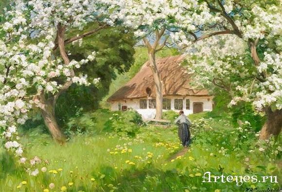Hans Andersen A Summer's Day in the Garden