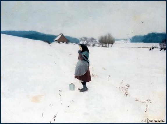 Hans Andersen Brendekilde - Winter