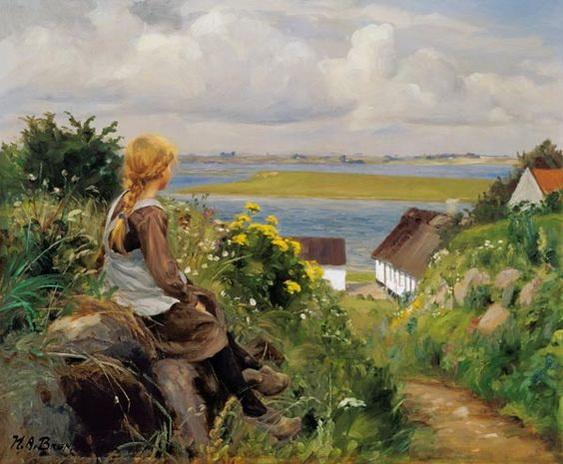 Hans Andersen Brendekilde - Ensimismada