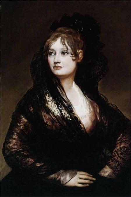 Francisco Goya - Dona Isabel de Porcel