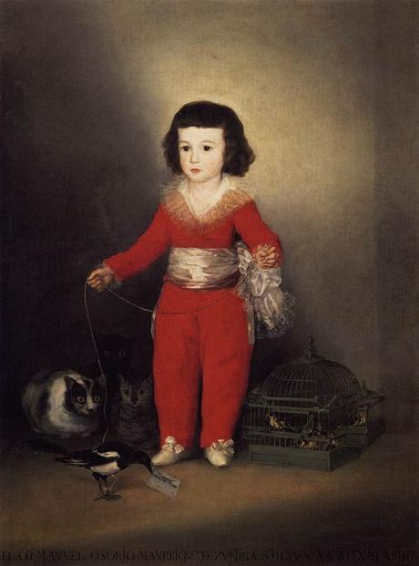Francisco Goya - Don Manuel Osorio