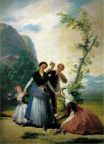 Francisco Goya - Primavera
