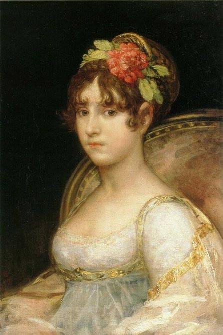 Francisco Goya - Maria Ana Silva-Bazan