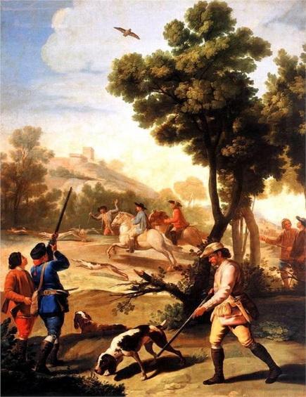 Francisco Goya - The Quail Shoot
