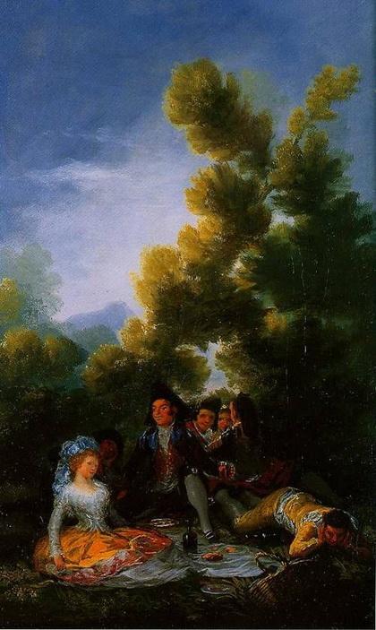 Francisco Goya -  Picnic