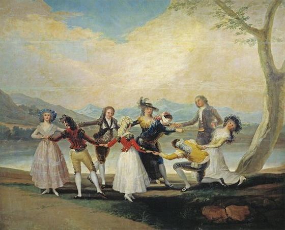 Francisco Goya - La gallina ciega