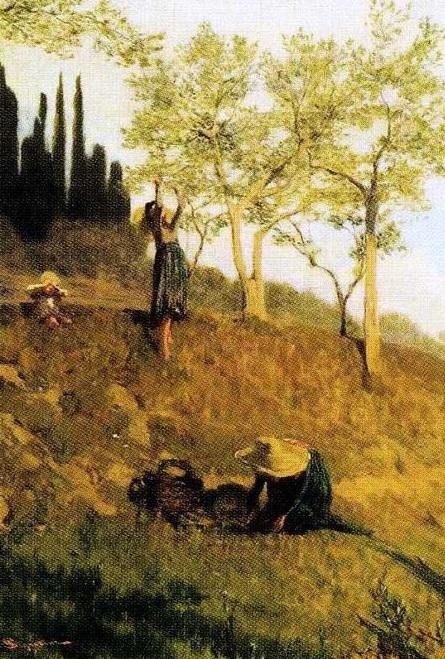 Telemaco Signorini - Raccolto della frutta