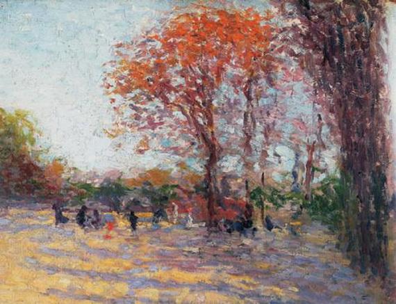 Ugo Malvano - Bois de Boulogne