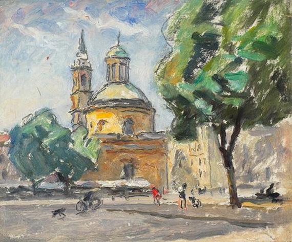 Ugo Malvano - Piazza Carlina 1946-50 г