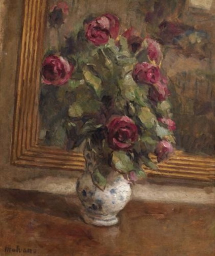 Ugo Malvano - Rose allo specchio