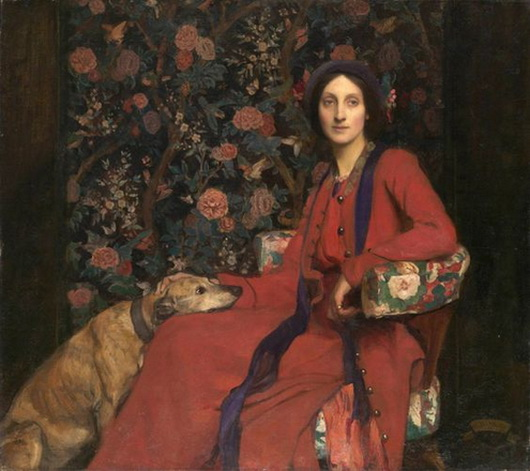 George Spencer Watson  -  Hilda and Maggie