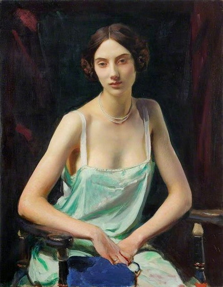 George Spencer Watson  -  Woman in a Camisole