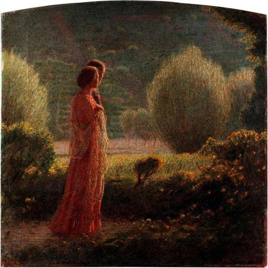 Giuseppe Pellizza da Volpedo - l'amore nella vita