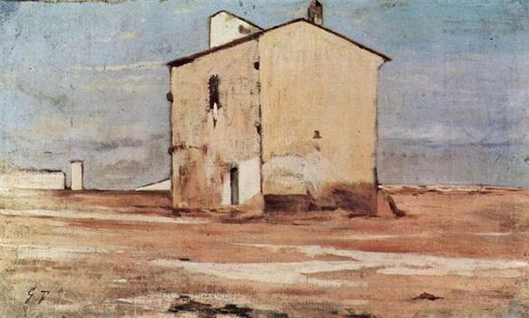 Giovanni Fattori - Cantiere di knacker a Livorno