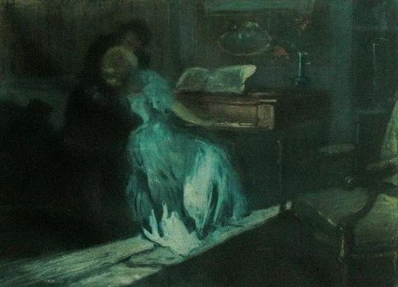 Lionello Balestrieri - Couple at the Piano