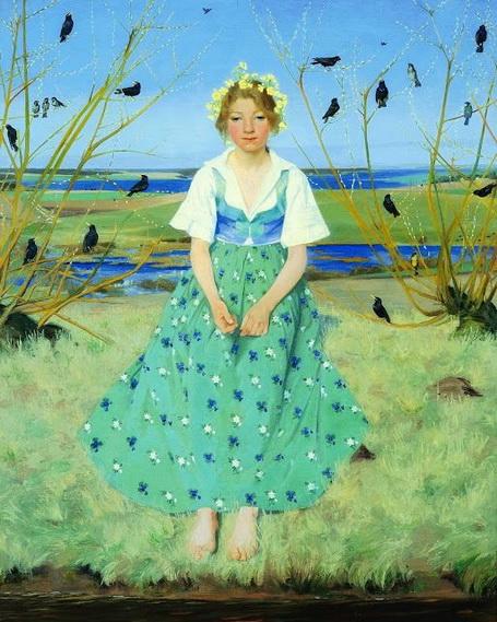Harald Slott Moller - Spring, 1896