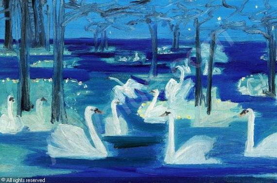 Harald Slott Moller - Swan lake