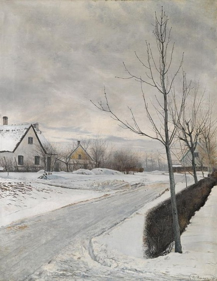 Laurits Andersen Ring - Winter Day