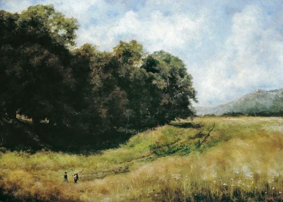 Louis Eysen - chemin de champ
