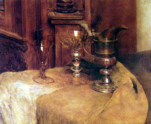 Louis Eysen -  Stillleben mit Glasern
