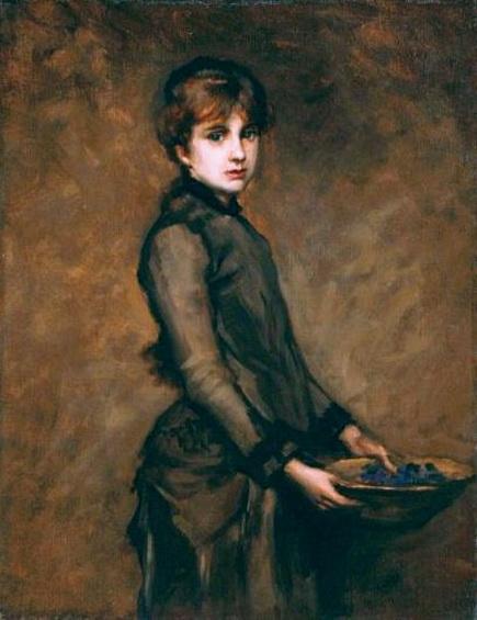 Charles Emile Auguste Durant - Portrait of Berthe Morisot