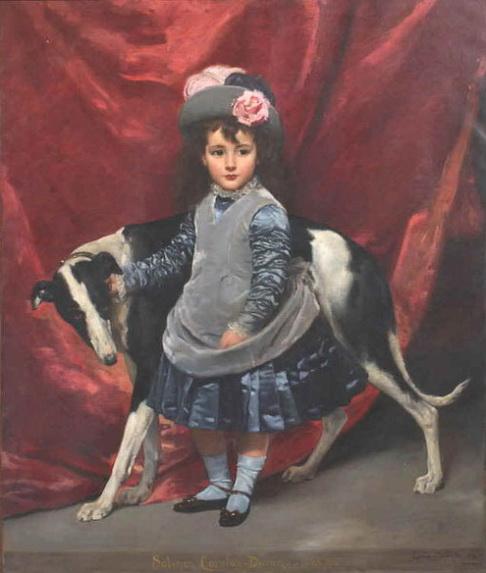 Charles Emile Auguste Durant - Mademoiselle Sabine