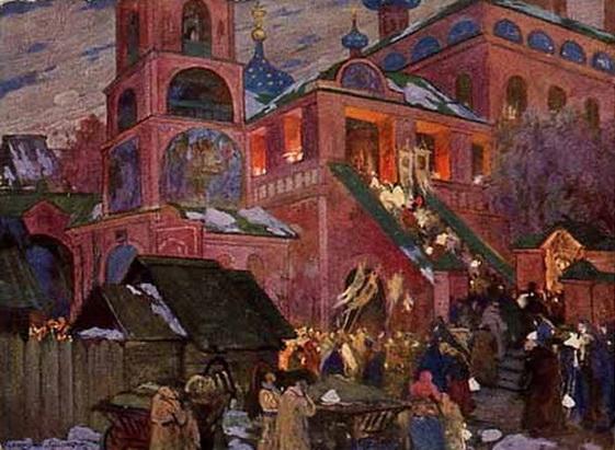 И. С. Горюшкин-Сорокопудов - В пасхальную ночь