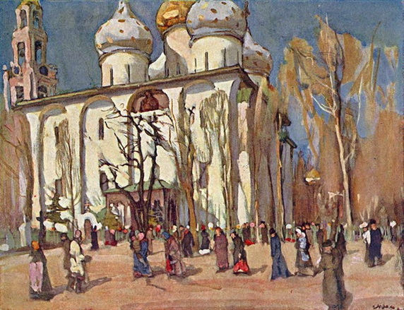 Степан Колесников - Праздничный день.1903