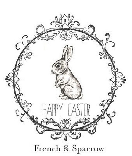 free Easter printable from French & Sparrow