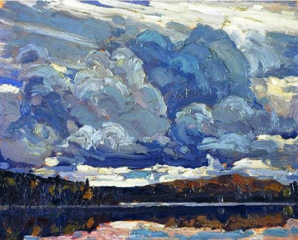 Tom Thomson Grey Sky 1914