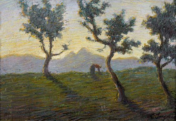 Emilio Longoni -  Landscape