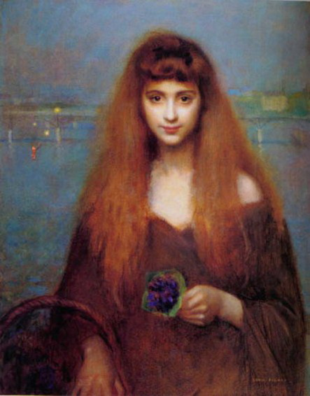Georges Louis Picard - La vendeuse de violettes