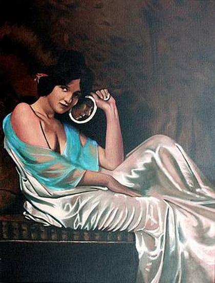 Brian Smyth - Lady with a Mirror