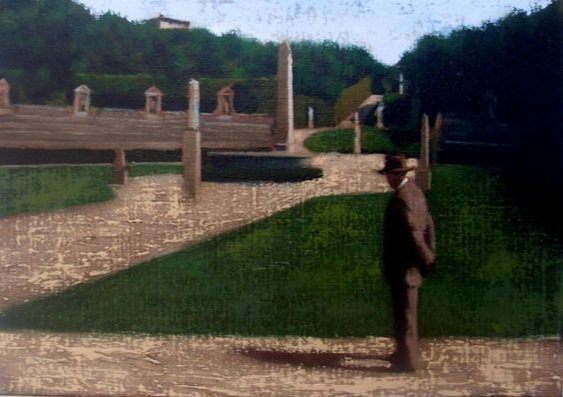Brian Smyth - Man in the Italian Garden