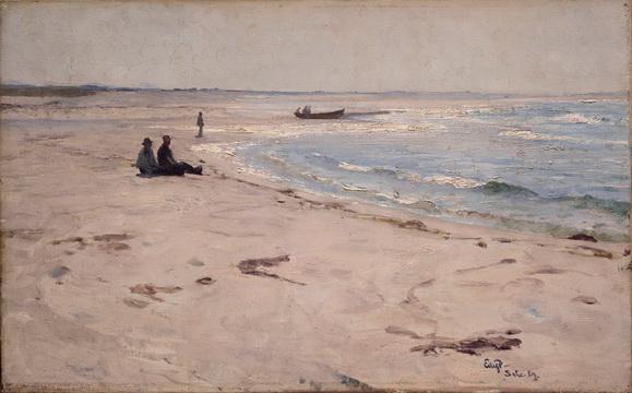 Eilif Peterssen - beach