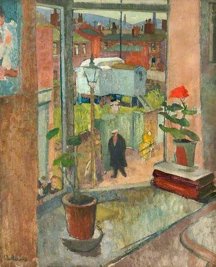 Harry Rutherford -  View from the Studio Window