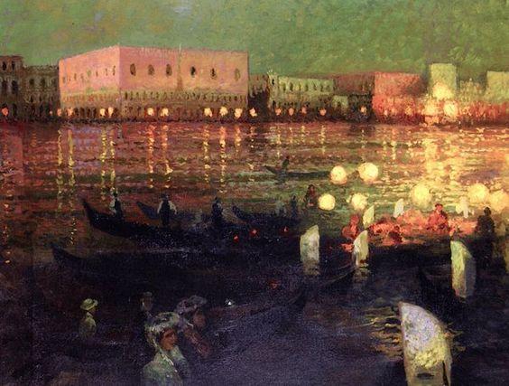 Louis Abel Truchet - Venise The Doges Palace