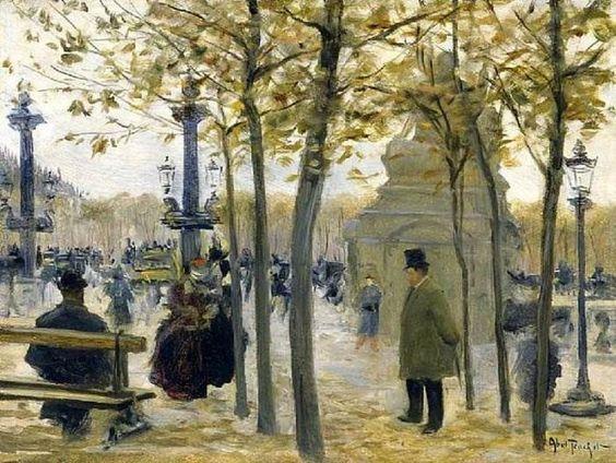 Louis Abel Truchet - Place de la Concorde