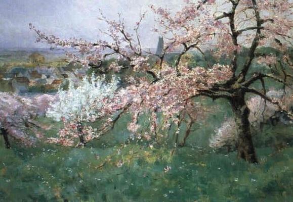 Louis Abel Truchet - Pommiers en fleurs