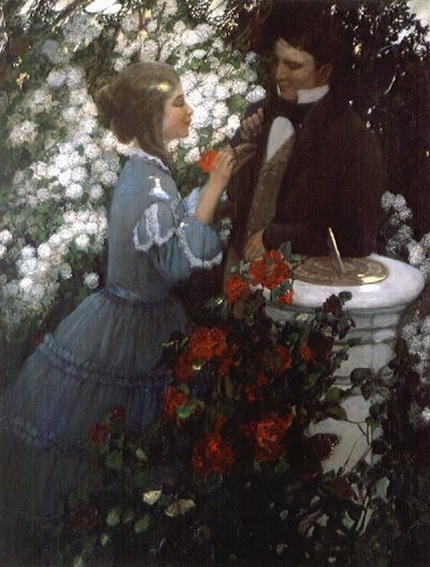 Anna Whelan Betts -  In the Rose Garden