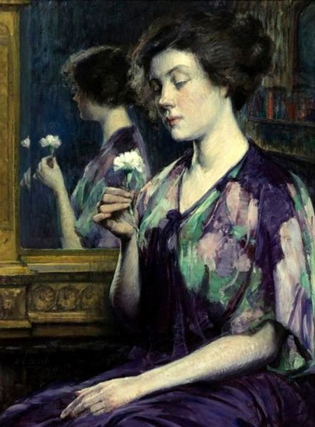Abraham Leon Kroll - A Precious Flower