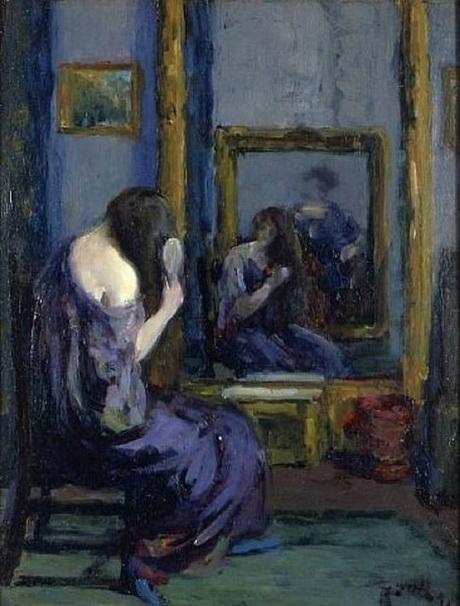 Abraham Leon Kroll - Before the Mirror