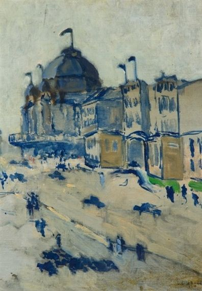 Auguste Chabaud - Pariser Boulevard