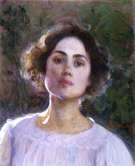 Elin  Danielson - Gambogi -  Self Portrait