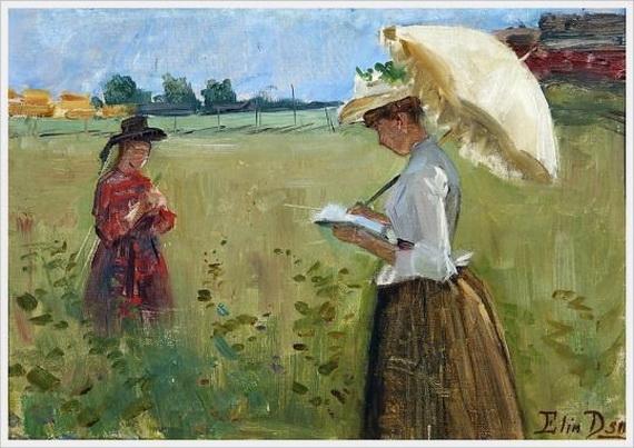 Elin  Danielson - Gambogi - Girls on the meadow