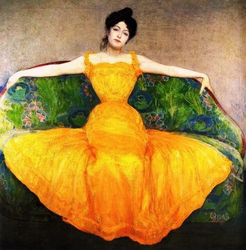 Max Kurzweil - Lady in Yellow Set