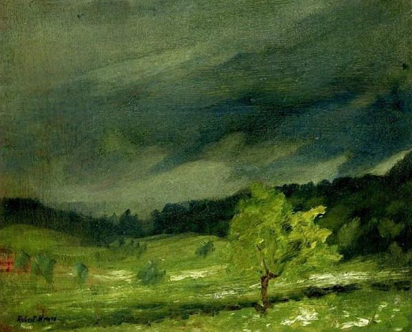 Robert Henri  Summer Storm
